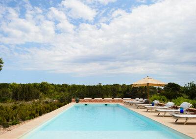 lovely pool side villa ines