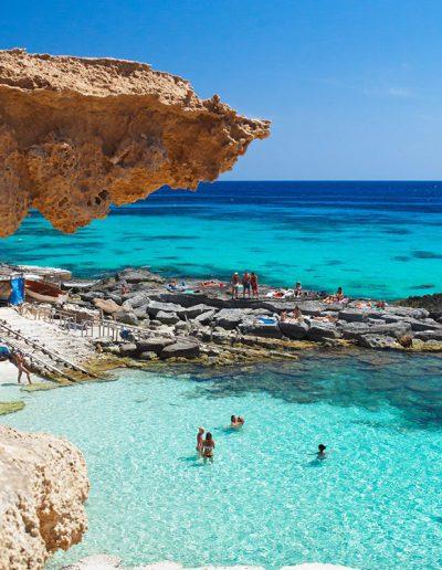 Beautiful beach in Formentera