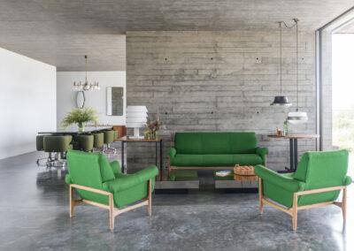 indoor relaxing in luxurious villa luz in formentera