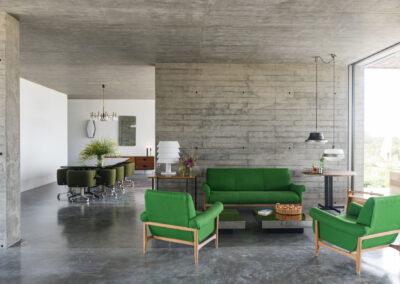classy interior design for relaxing in luxury summer holidays in villa luz in formentera