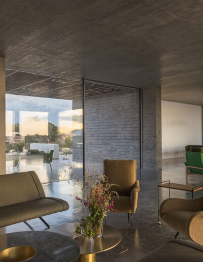 luxury villa luz window on garden in cap de barbaria formentera