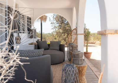 lovely additional atrium in villa tierra