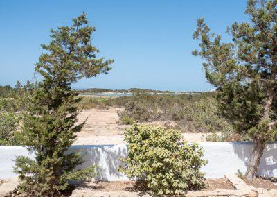nice landscape in villa tierra formentera
