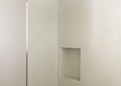 bathroom details in clean villa sueño in la mola formentera