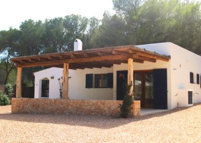 stunning entrance of villa sueño in la mola formentera