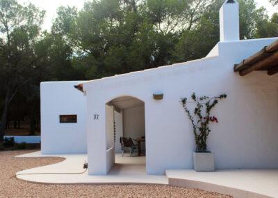 beautiful white patio villa sueño
