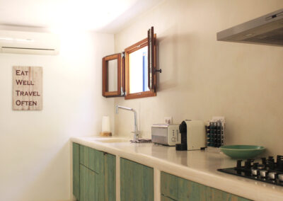 kitchen cooking counter for amazing cooking in villa sueño formentera