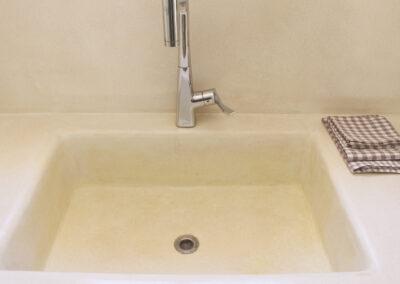 water sink for good cooking in villa sueño formentera