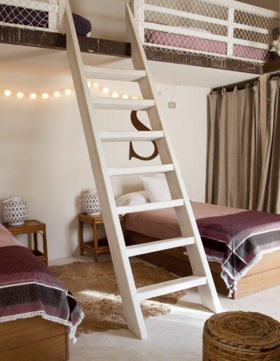 well presented bedroom for kids in villa bohemian
