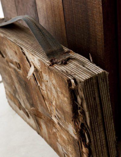 handmade wood detail at villa bohemian