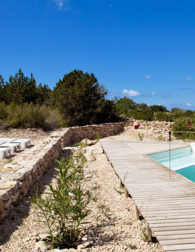 enchanting swimming pool in formentera