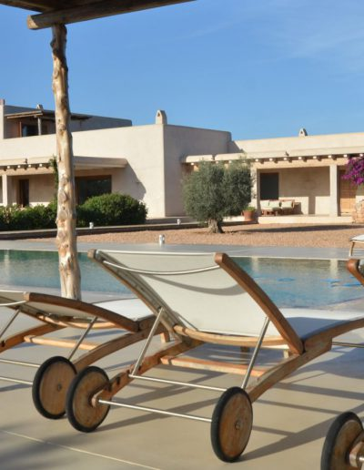 sublime view of pool side villa eloisa