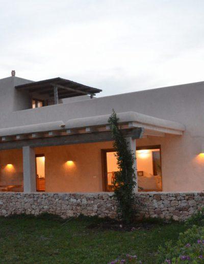 twilight moment in villa eloisa formentera