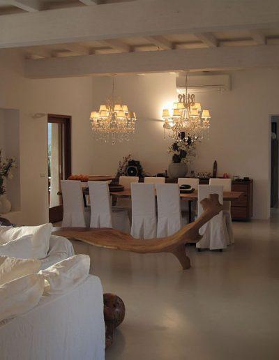 divine dining room villa eloise
