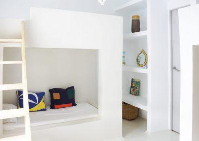cosy bedroom for the kid at villa om