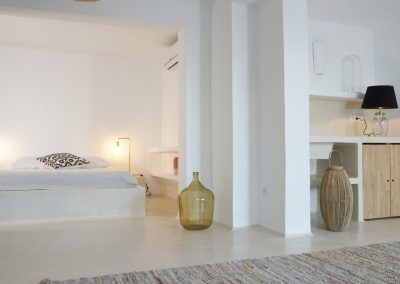 luscious double bedroom for guests in villa Om