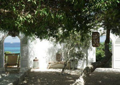 elegant garden with sea view villa OM