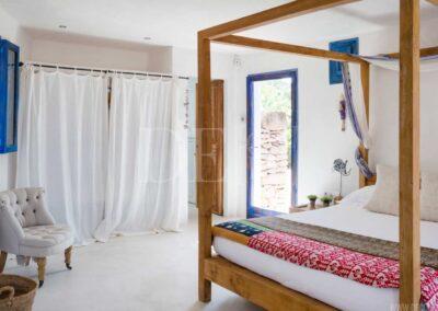 third bedroom of villa casanita, delightful villa for rent in formentera, sant Francesc area