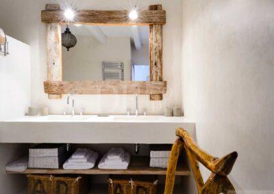 furniture details in this beautiful villa for rent in formentera, villa casanita close to sant Francesc area