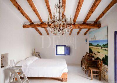 sixth bedroom for rent in the stunning villa casanita, close to sant francesc area in formentera
