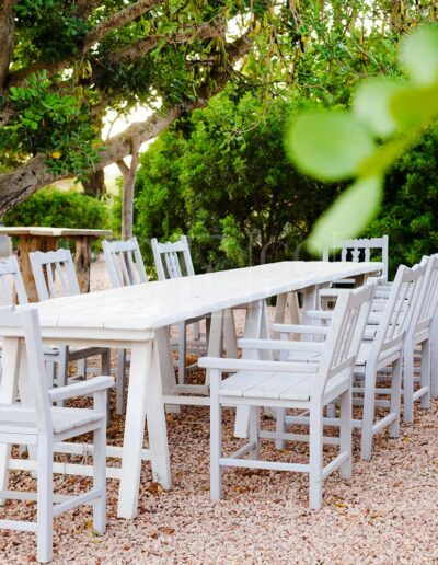 lunching on the terrace of villa casanita in formentera, an unforgettable holiday