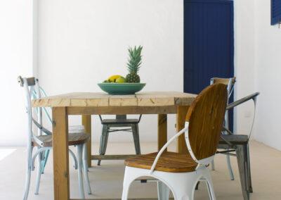 splendid table for outdoor summer dining in formentera luxury villa sueño