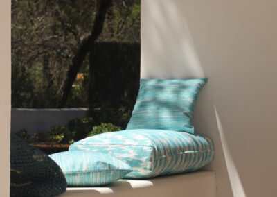 chilling area for relaxing in the outdoor of luxurious villa sueño in la mola formentera