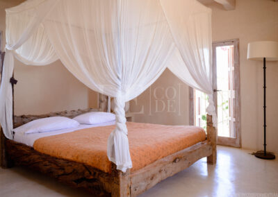 third bedroom in the luxurious villa Barbara for rent in formentera, sant francesc area