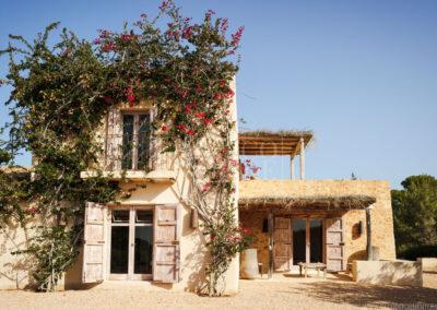 second floor in the glamorous villa Barbara for rent in sant francesc, formentera