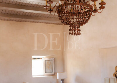 tv room in villa Barbara, the perfect property for amazing summer holidays in formentera