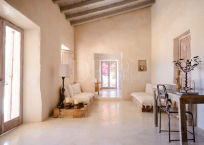 beautiful and charming corridor in villa Barbara, rental property in sant francesc area, formentera