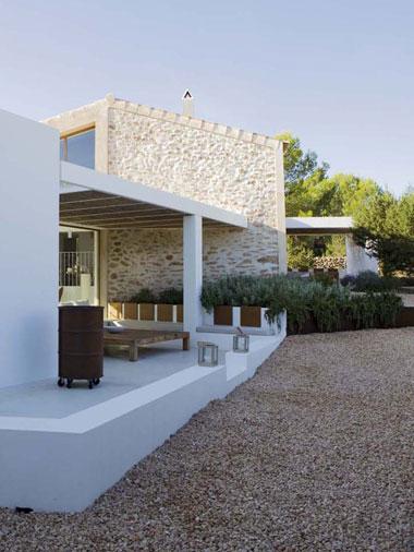 outdoor space seating villa es vedra