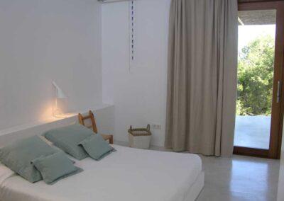 hadsome second bedroom for guest villa es vedra