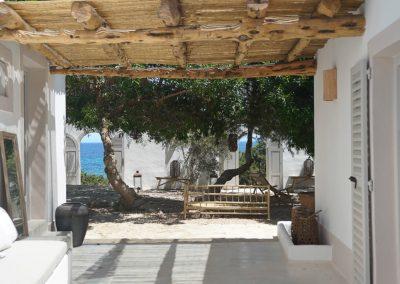 glamorous terrace at villa om