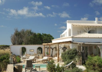breath taking view of Villa Om is a beachfront property located in Formentera