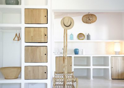 smart and modern storage area in villa om